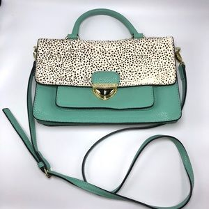 Gianni bini teal Crossbody